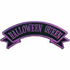 "Authentic KREEPSVILLE 666 Halloween Queen Arch Patch 4.9"" NEW"