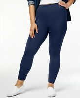 HUE First Looks Seamless Leggings, Navy, S/M (size 4-8), NWOT