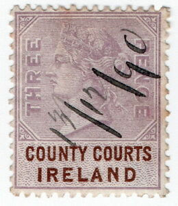 (I.B) QV Revenue : County Courts Ireland 3d (1882)