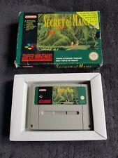 Jeu Super Nintendo SECRET OF MANA FRA bon état et fonctionnel SNES