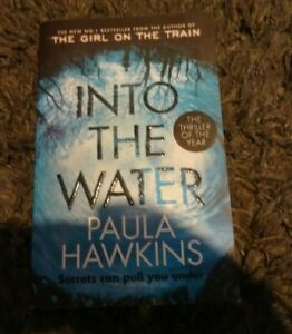 Into the Water by Paula Hawkins Paperback Book