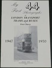 LONDON TRANSPORT BUSES Bus Trams History Vehicles Tramways Photographs 1947-1970