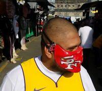 San Francisco 49ers Motorcycle Half Skull Mask