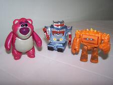 Disney Toy Story 3 PVC Character Buddy Pack Lotso Bear Chunk Sparks Robots