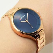 CURREN Women Watch Rose Gold Luxury Ladies Wristwatch Quartz Fashion Wrist Watch