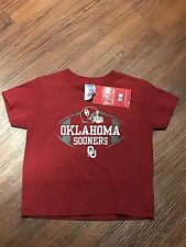 Oklahoma Sooners T Shirt New with Tags, Red, Boys Size 4