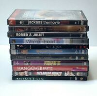 Mix Lot Of 11 DVDs, Action and Comedy, Jackass, The Hangover Part 2...(Lot B)