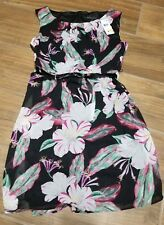 Connected Apperal Ladies Sleeveless Dress, Multi Color Floral, 8P
