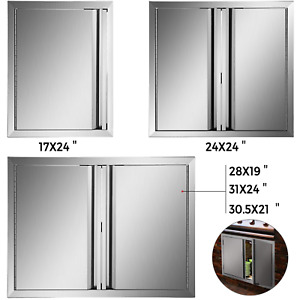 BBQ Tür für Badezimmer 5 Typen Edelstahl Outdoor-Küche Aussenbereich Gas Grill