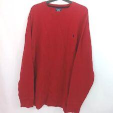 Polo Ralph Lauren Shirt Mens Sz 2XL Red I15