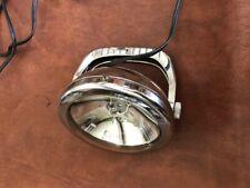 Vintage metal handheld spotlight with handle
