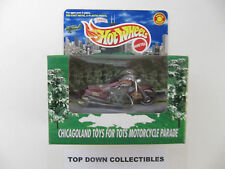 Hot Wheels  Chicagoland Toys For Tots Motorcycle Parade   New In Package
