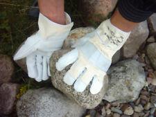 Arbeitshandschuhe Rindnarbenleder Handschuhe Bau Ga-La-Bau Garten  2 Paar Gr11