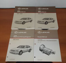 1995 LEXUS GS300 REPAIR MANUAL ELECTRICAL WIRING DIAGRAM AUTOMATIC TRANSMISSION