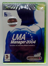 LMA MANAGER 2004 XBOX 360 EUROPEAN SEALED BRAND NEW