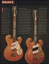 The 1961 Mosrite Special Joe Maphis Rose Lee Guitars 1997 pinup photo & article