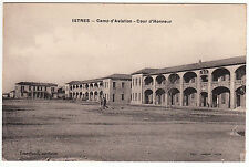CARTE POSTALE ISTRES CAMP D AVIATION COUR D HONNEUR