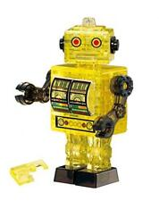 Beverly Crystal 3D Puzzle Robot Yellow 39 Piece 50201