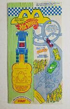 1994 McDonalds Happy Meal Bag Hot Wheels / Barbie Vintage