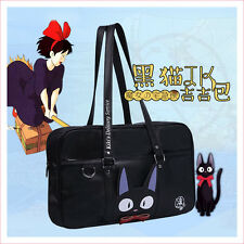 Kiki's Delivery Service Jiji Cat Japanese JK Uniform Student School Bag Handbag