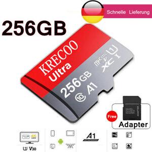 256GB MicroSDHC Micro SD Speicherkarte mit SD-Adapter Intenso Class10 Highspeed