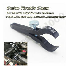 Black Aviation Aluminum Alloy Motorcycle Cruise Control Cnc Throttle Lock Assist(Fits: Bear Bones)
