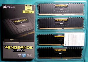 CORSAIR Vengeance LPX 16GB (4 x 4GB) 288-Pin DDR4 SDRAM 2400 (PC4 19200) FreShip