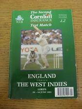 West Indies Cricket Programmes