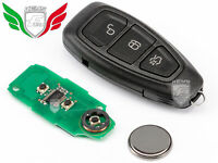 CLE 3 BOUTON 11713499 POUR FORD FOCUS C-MAX KUGA MONDEO B-MAX GALAXY 433MHz ID63