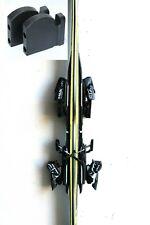 Black Ski Storage Wall Rack Mount Display Hanger Holder Hanging Bracket Case