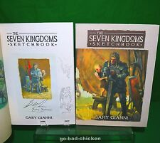 SIGNED Seven Kingdoms Sketchbook Gary Gianni George RR Martin LIMITED 250 COPIES