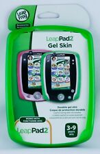 LeapFrog LeapPad 2 Gel Skin Protective Cover Green (LeapPad2/2P & LeapPad1) New
