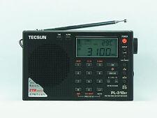 TECSUN PL-310ET Black FM Stereo/SW/MW/LW World Band PLL DSP Radio
