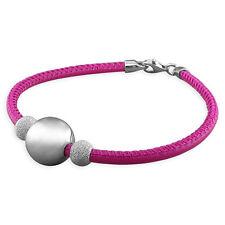 Pink cord con Llano Y Polvo De Diamante Grano