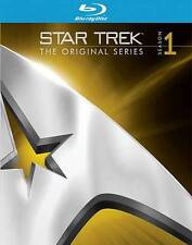 Star Trek: The Original Series - Season One (Blu-ray Disc, 2009, Fullscreen) NEW