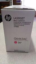 Genuine HP Q6463AC Magenta Toner for HP Colour  LJ 4730 Printers Brand New