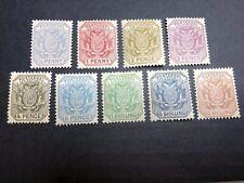 Transvaal Scott 153-61 Mint OG CV $58.75