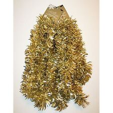 NEW Jaclyn Smith, Gold, Christmas Tinsel Garland 3-10ft Garlands