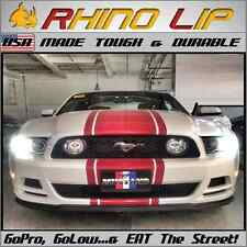 Universal Mustang Rubber FLEXIBLE Chin Spoiler Splitter Lip Trim Mimics~A~Mach*1