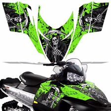 Sled Wrap for Polaris Shift Dragon RMK Graphic Snow Decal Kit Snowmobile REAP G