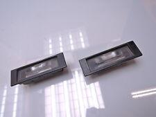 2x BMW e87 1 KENNZEICHENLEUCHTE LICHT LEUCHTE 7165735 (JS99)