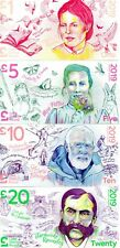 More details for complete set of 2019 local currency lake district notes £1 £5 £10 £20     unc