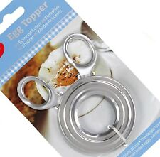Boiled Egg Shell Topper Scissors Stainless Steel Cutter Clipper Cracker Slicer