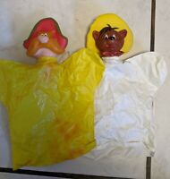 Yosemite Sam & Speedy Gonzales Hand Puppets Made in Japan