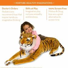 """Tiger Giant Stuffed Animal 67"""" H x 20"""" W x 14"""" L Great Gift for Girls and Boys"""