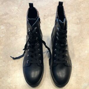 Nine West  Wylie3 Black Multi LL  women's boots  Size 10 M  New in Box