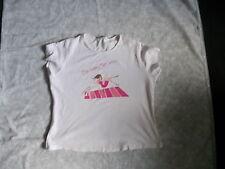 Ladies Pale pink T-shirt, size 18