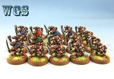 25mm Warhammer Fantasy WGS painted Skaven Slaves with Hand Weapons SK034