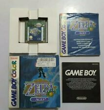 The Legend of Zelda Oracle of AGES Game Boy Color pal EUR COMPLETO NECESITA PILA