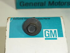 NOS GM Bolt & Washer Chevrolet Corvette NCRS Impala Camaro Nova Rare Anchor NICE